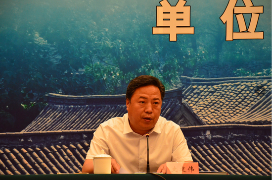 中共河北省委宣传部副部长史建伟