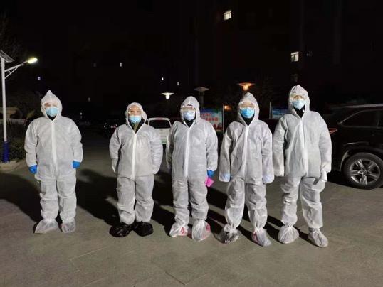 图:中国银行南宫支行工作队圆满完成工作任务
