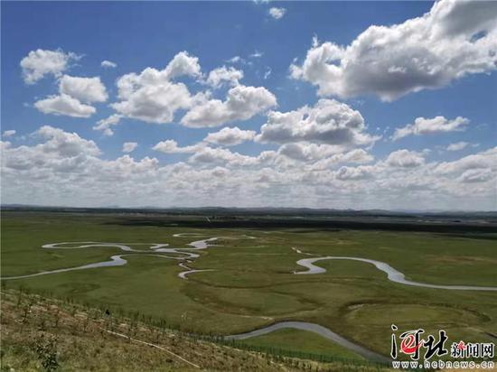 图为张家口市沽源县闪电河国家湿地沽源景色。通讯员崔建军摄