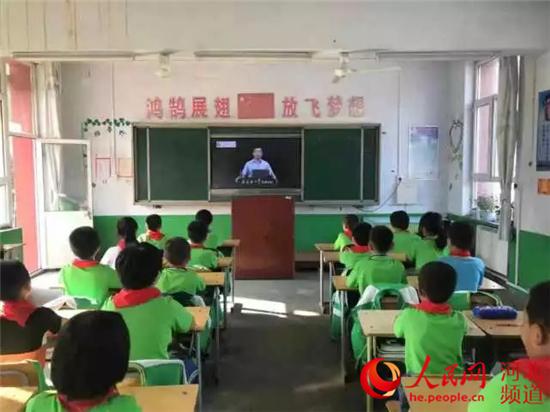 承德中小学生收看开学安全第一课