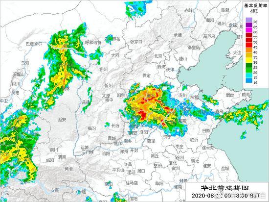 图/中央气象台微博
