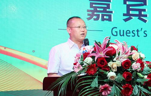 北京增福康环保科技有限公司总经理黄振学先生致辞