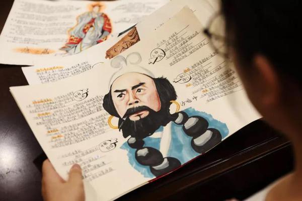安徽13岁女孩手绘名著走红网络