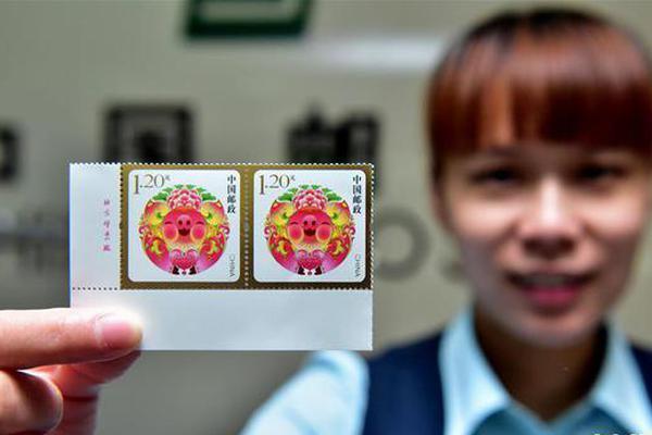 福寿圆满贺年专用邮票发行