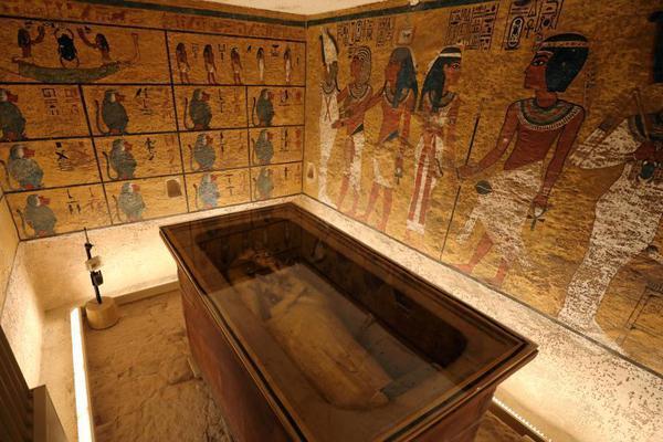埃及图坦卡蒙法老墓穴对外开放