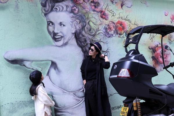 香港大型艺术壁画
