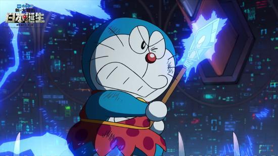 哆啦A梦在战斗