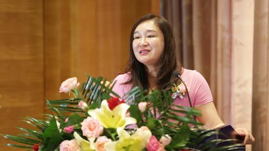 雅芳亚医疗美容医院常务院长张莉致辞