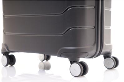 Samsonite Octolite旅行箱双轮设计,更加稳定