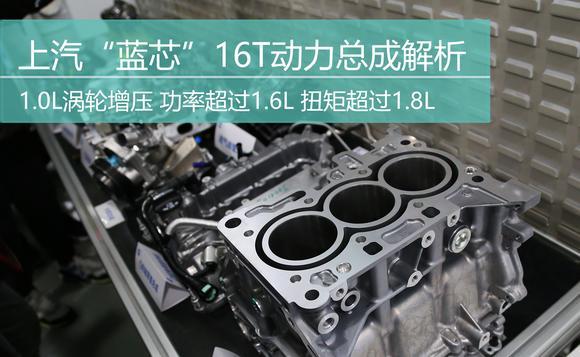 """黄金排量 上汽""""蓝芯""""16T发动机解析"""