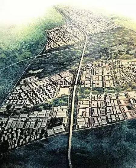 科技新城鸟瞰图