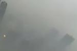 427米高空拍摄重霾下的北京 城市被雾霾吞没