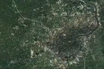 从宇宙俯瞰中国 见证各大城市30多年来巨大变化
