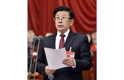 赵克志主持会议。记者 任光阳 郭 昭摄
