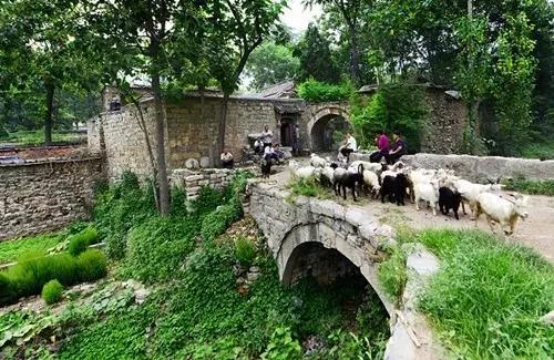 邢台沙河市北盆水村