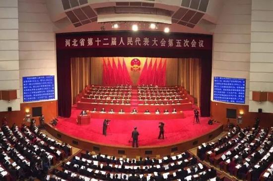 河北省第十二届人民代表大会第五次会议。