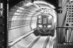 地铁3号线首开段模拟试运行 从小灰楼站到石家庄站