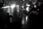 男子吸毒后挥长刀砍人 警察开枪制服