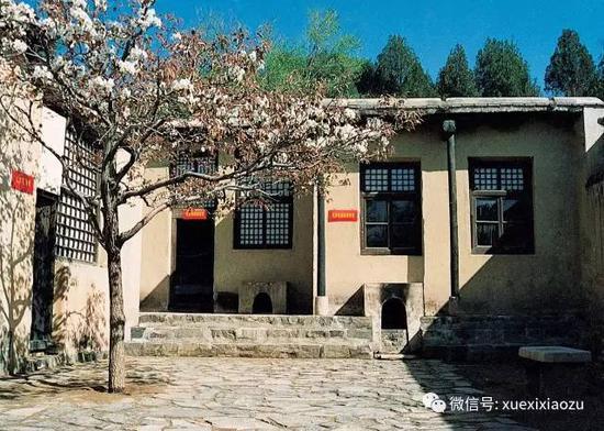 石家庄西柏坡毛泽东主席办公室旧址