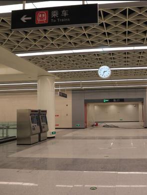 首探石家庄地铁:各站首末班时刻表曝光