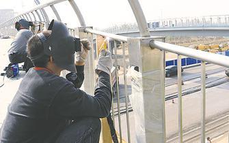 衡水市争分夺秒园博园建设