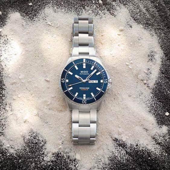 瑞士美度表OCEAN STAR领航者系列长动能防水腕表