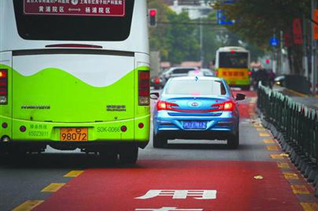 唐山:296辆车违法占公交车道被曝光