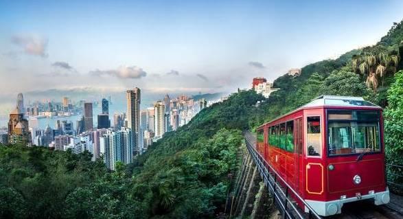 太平山顶香港岛的最高峰