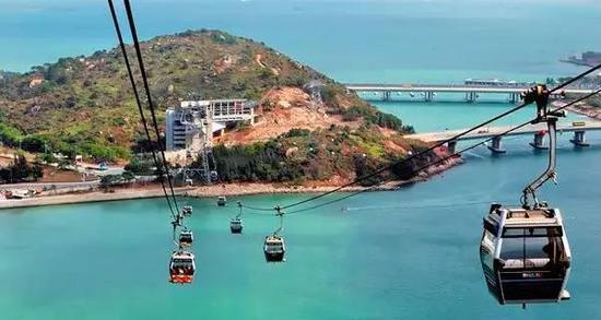 大屿山,香港最大的离岛。