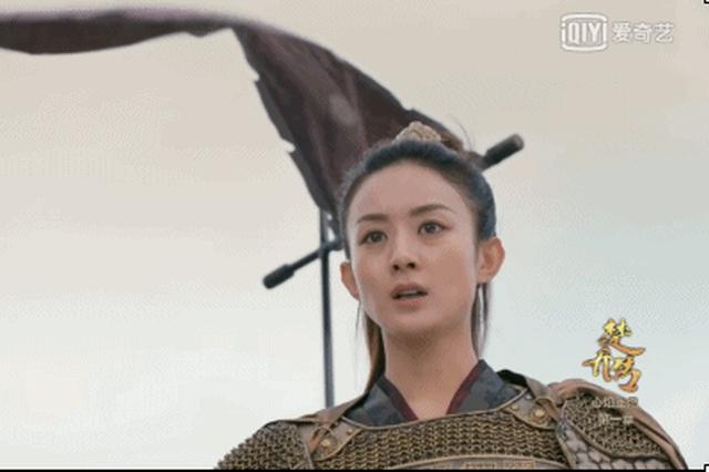 同演女将军宋茜演技尴尬 被赵丽颖秒杀成这样!