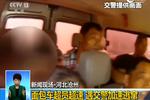 河北沧州:面包车超员超速 遇交警加速逃窜