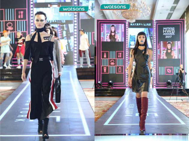 潮妆品牌模特闪耀登场