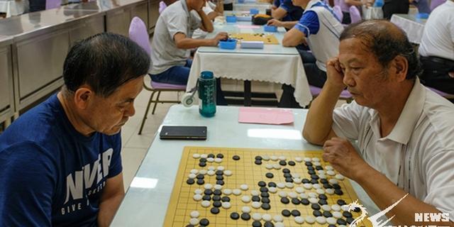 老年人运动会象棋、围棋比赛落幕