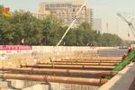 石家庄地铁2号线首个车站实现封顶 主体工程加速推进
