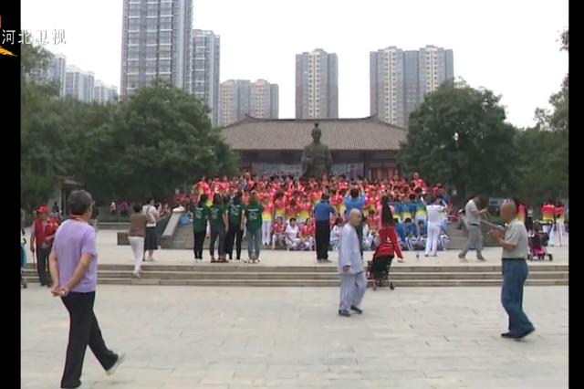 石家庄赵佗公园升级改造重新开放