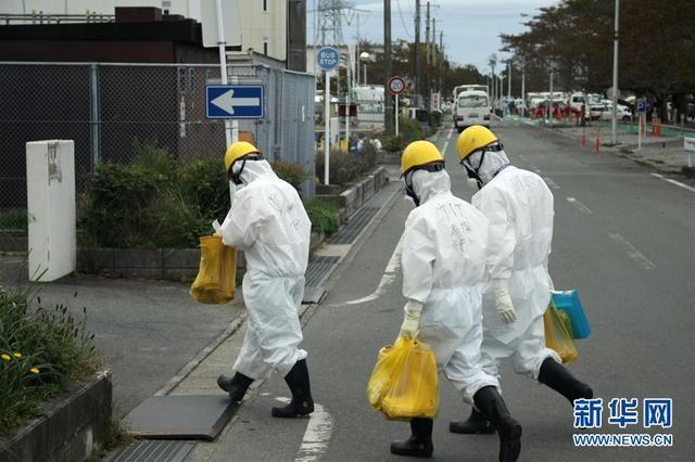 探访日本福岛第一核电站
