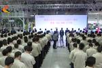 北京现代沧州分公司量产一周年 第10万台整车下线