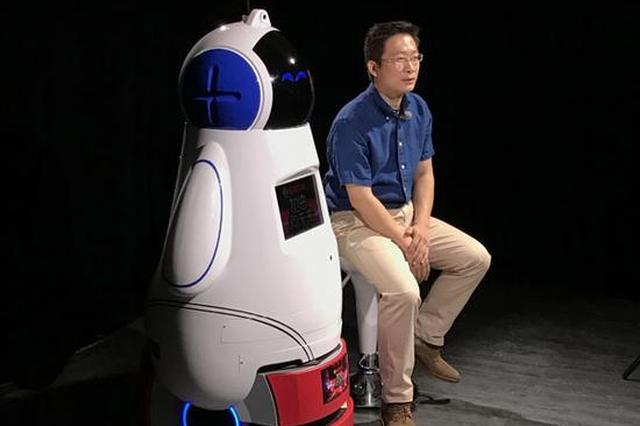 """河北饶阳籍科学家王金桥:教会机器人""""看脸"""""""