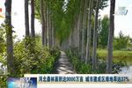 河北森林面积达9000万亩 城市建成区绿地率达37%