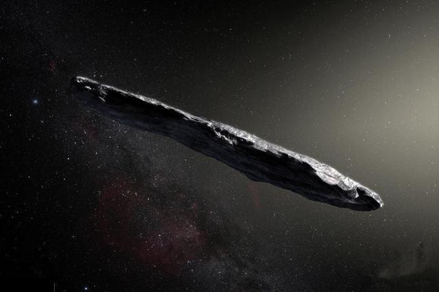 人类首次在太阳系内发现系外天体 形状酷似雪茄