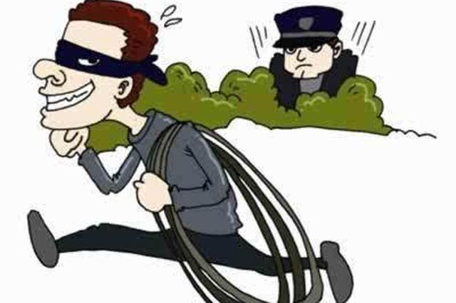 石家庄俩小偷盗窃刚得手 回头发现身边全是警察