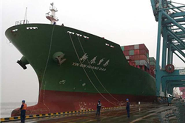 """河北省对""""一带一路""""沿线国家进出口同比增13.3%"""