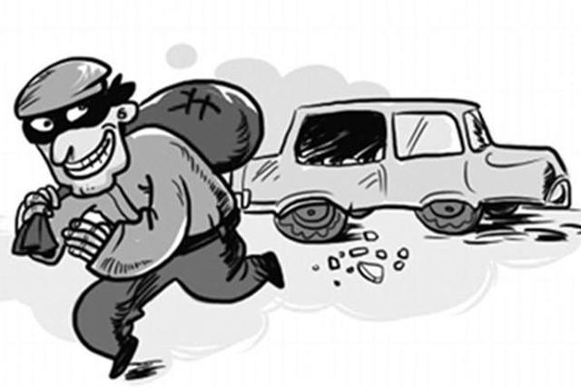 前科男在石家庄街头见财起意 重操旧业被抓获