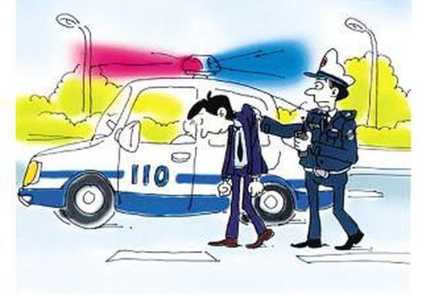石家庄一司机驾车撞人后逃逸 交警连夜侦破案件