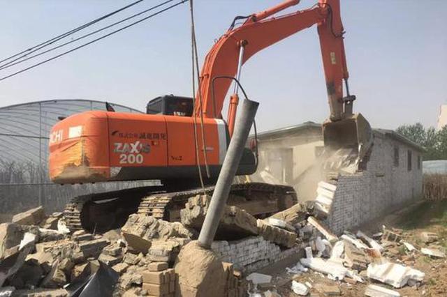 沧州第二次拆除行动 两区共拆除违建26000平方米