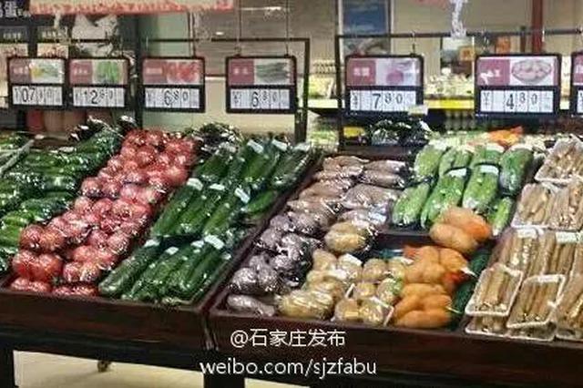 石家庄人买肉菜这24家超市最放心 你家附近有吗
