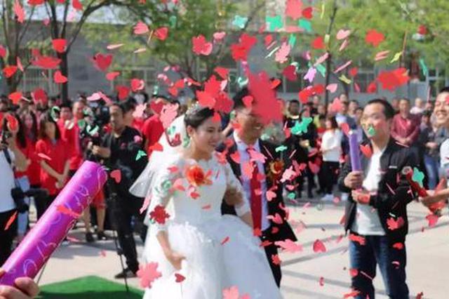 邢台:新娘零彩礼出嫁 百名青年签字抵制高价彩礼