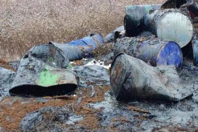 河北破获一起污染环境案 非法倾倒废物1000余吨