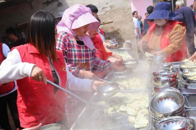 河北临西多村举办饺子宴 弘扬文明乡风