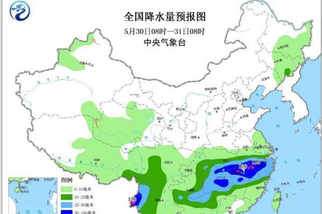 华北黄淮6月初将现35℃高温 江南再迎强降雨